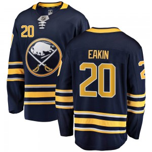 Cody Eakin Buffalo Sabres Youth Fanatics Branded Navy Blue Breakaway Home Jersey