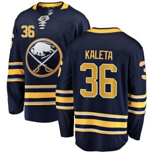 Patrick Kaleta Buffalo Sabres Youth Fanatics Branded Navy Blue Breakaway Home Jersey