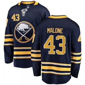 Sean Malone Buffalo Sabres Youth Fanatics Branded Navy Blue Breakaway Home Jersey