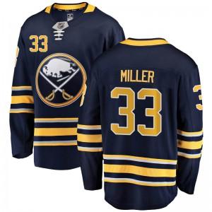 Colin Miller Buffalo Sabres Youth Fanatics Branded Navy Blue Breakaway Home Jersey