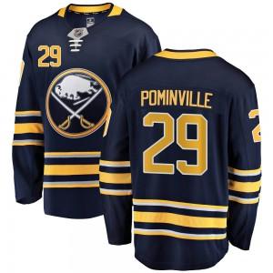 Jason Pominville Buffalo Sabres Youth Fanatics Branded Navy Blue Breakaway Home Jersey