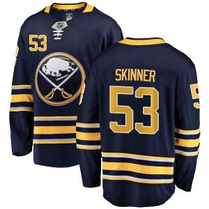Jeff Skinner Buffalo Sabres Youth Fanatics Branded Navy Blue Breakaway Home Jersey