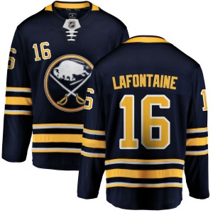 Pat Lafontaine Buffalo Sabres Men's Fanatics Branded Blue Home Breakaway Jersey