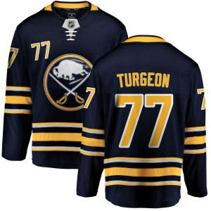 Pierre Turgeon Buffalo Sabres Men's Fanatics Branded Blue Home Breakaway Jersey