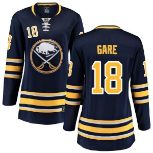 Danny Gare Buffalo Sabres Women's Fanatics Branded Blue Home Breakaway Jersey