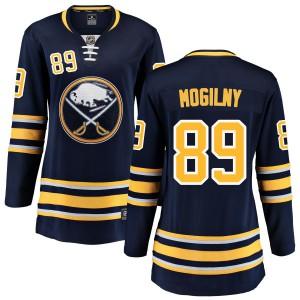 Alexander Mogilny Buffalo Sabres Women's Fanatics Branded Blue Home Breakaway Jersey