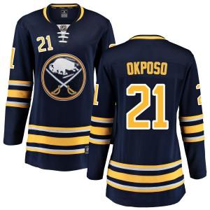 Kyle Okposo Buffalo Sabres Women's Fanatics Branded Blue Home Breakaway Jersey