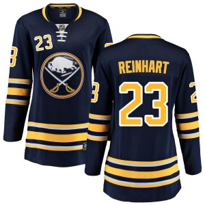 Sam Reinhart Buffalo Sabres Women's Fanatics Branded Blue Home Breakaway Jersey