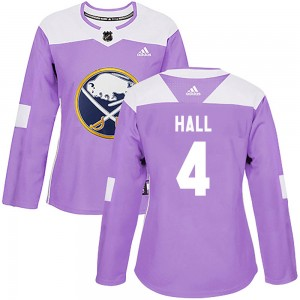 Taylor Hall Buffalo Sabres Women's Adidas Authentic Purple Fights Cancer Practice Jersey