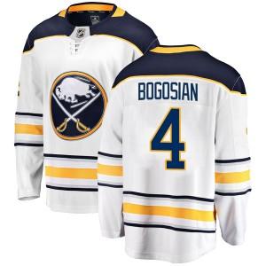 Zach Bogosian Buffalo Sabres Youth Fanatics Branded White Breakaway Away Jersey