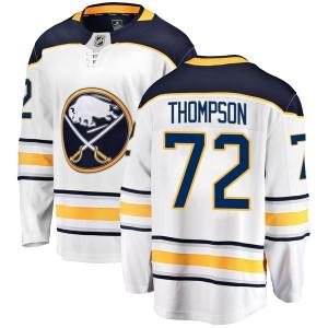 Tage Thompson Buffalo Sabres Youth Fanatics Branded White Breakaway Away Jersey