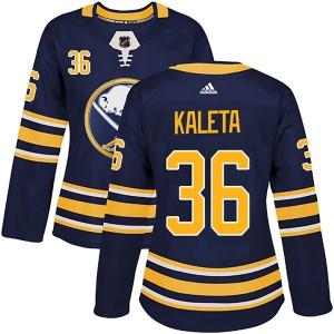 Patrick Kaleta Buffalo Sabres Women's Adidas Authentic Navy Home Jersey