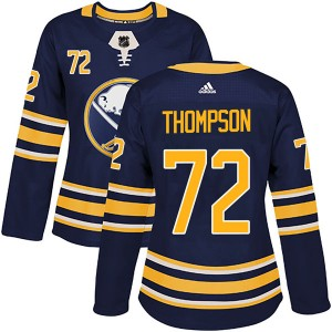 Tage Thompson Buffalo Sabres Women's Adidas Authentic Navy Home Jersey
