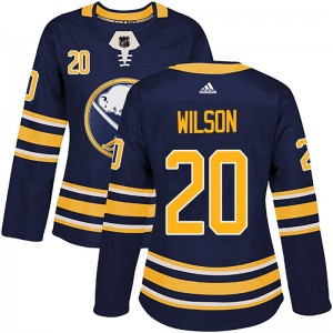 Scott Wilson Buffalo Sabres Women's Adidas Authentic Navy Home Jersey