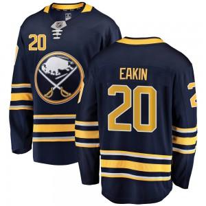 Cody Eakin Buffalo Sabres Men's Fanatics Branded Navy Blue Breakaway Home Jersey