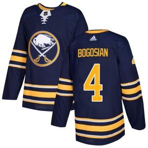 Zach Bogosian Buffalo Sabres Men's Adidas Authentic Navy Home Jersey