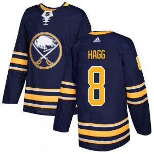 Robert Hagg Buffalo Sabres Men's Adidas Authentic Navy Home Jersey