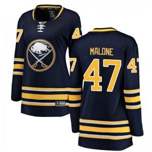 Sean Malone Buffalo Sabres Women's Fanatics Branded Navy Blue Breakaway Home Jersey