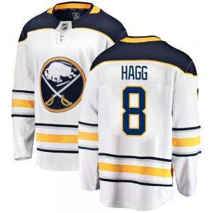 Robert Hagg Buffalo Sabres Men's Fanatics Branded White Breakaway Away Jersey