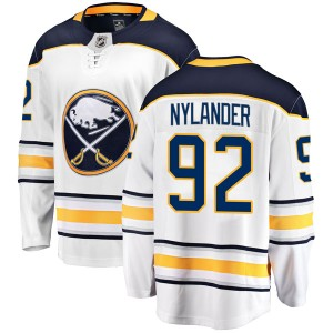 Alexander Nylander Buffalo Sabres Men's Fanatics Branded White Breakaway Away Jersey
