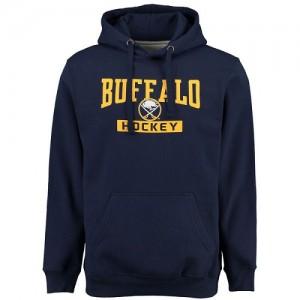 Buffalo Sabres Men's Navy Rinkside City Pride Pullover Hoodie