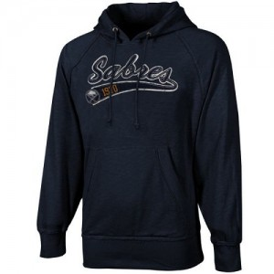 Buffalo Sabres Men's Navy Blue Old Time Hockey Hudson Pullover Hoodie