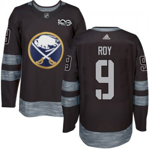 Derek Roy Buffalo Sabres Men's Adidas Authentic Black 1917-2017 100th Anniversary Jersey