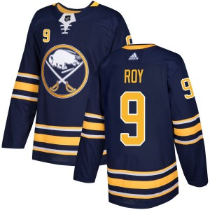 Derek Roy Buffalo Sabres Men's Adidas Authentic Navy Jersey