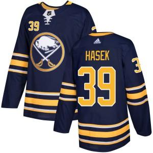 Dominik Hasek Buffalo Sabres Men's Adidas Authentic Navy Jersey