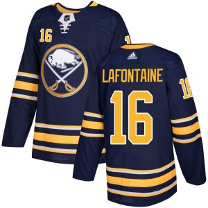 Pat Lafontaine Buffalo Sabres Men's Adidas Authentic Navy Jersey