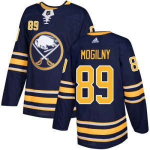 Alexander Mogilny Buffalo Sabres Youth Adidas Authentic Navy Blue Home Jersey