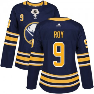 Derek Roy Buffalo Sabres Women's Adidas Authentic Navy Blue Home Jersey