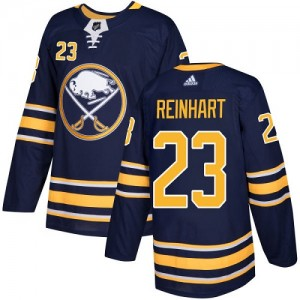 Sam Reinhart Buffalo Sabres Youth Adidas Authentic Navy Blue Home Jersey
