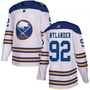 Alexander Nylander Buffalo Sabres Men's Adidas Authentic White 2018 Winter Classic Jersey