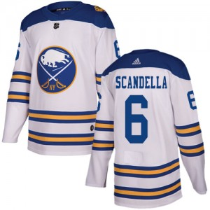 Marco Scandella Buffalo Sabres Youth Adidas Authentic White 2018 Winter Classic Jersey