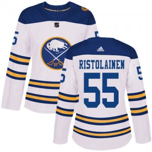 Rasmus Ristolainen Buffalo Sabres Women's Adidas Authentic White 2018 Winter Classic Jersey