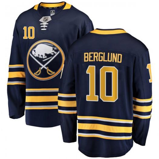 Patrik Berglund Buffalo Sabres Youth Fanatics Branded Navy Blue Breakaway Home Jersey
