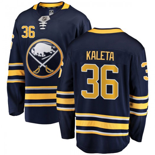 Patrick Kaleta Buffalo Sabres Youth Fanatics Branded Navy Blue Breakaway Home Jersey