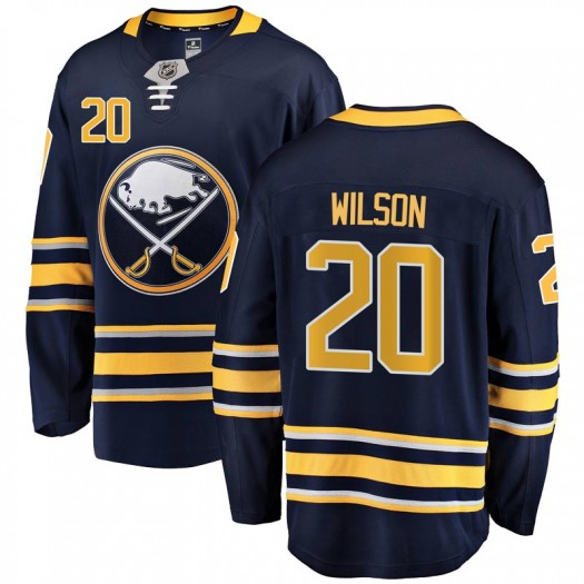 Scott Wilson Buffalo Sabres Youth Fanatics Branded Navy Blue Breakaway Home Jersey