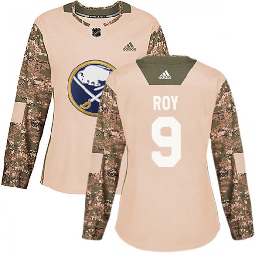 Derek Roy Buffalo Sabres Women's Adidas Authentic Camo Veterans Day Practice Jersey