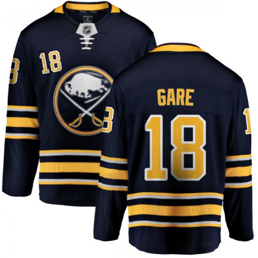 Danny Gare Buffalo Sabres Youth Fanatics Branded Blue Home Breakaway Jersey