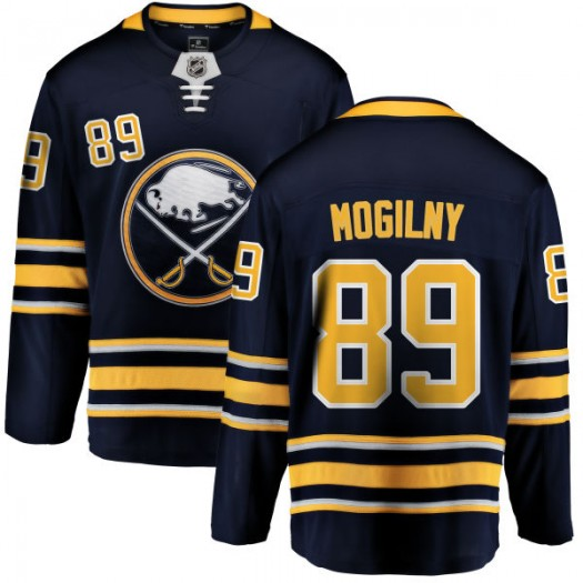 Alexander Mogilny Buffalo Sabres Men's Fanatics Branded Blue Home Breakaway Jersey