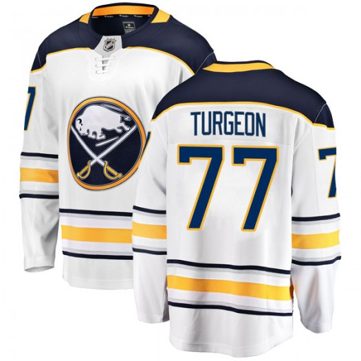 Pierre Turgeon Buffalo Sabres Youth Fanatics Branded White Breakaway Away Jersey