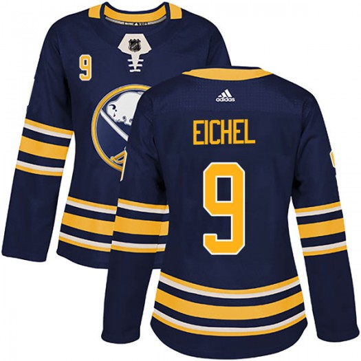 Jack Eichel Buffalo Sabres Women's Adidas Authentic Navy Home Jersey