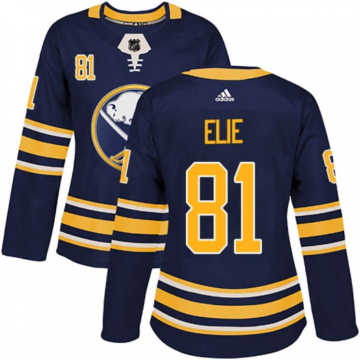 Remi Elie Buffalo Sabres Women's Adidas Authentic Navy Home Jersey