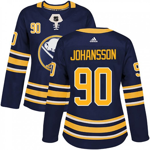 Marcus Johansson Buffalo Sabres Women's Adidas Authentic Navy Home Jersey