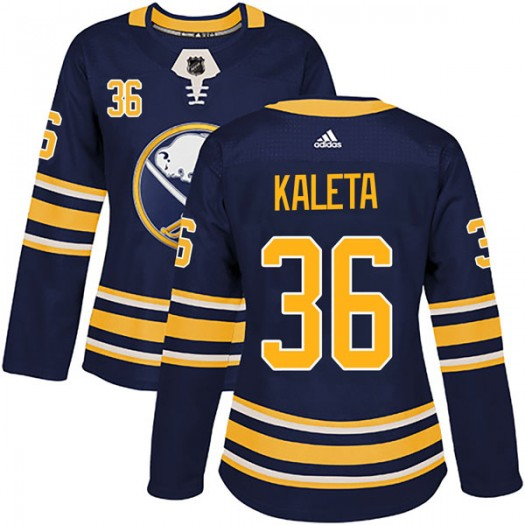 Patrick Kaleta Buffalo Sabres Women's Adidas Authentic Navy Home Jersey