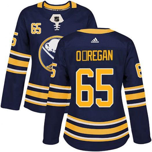 Danny O'Regan Buffalo Sabres Women's Adidas Authentic Navy Home Jersey