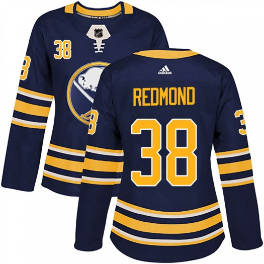 Zach Redmond Buffalo Sabres Women's Adidas Authentic Red Navy Home Jersey