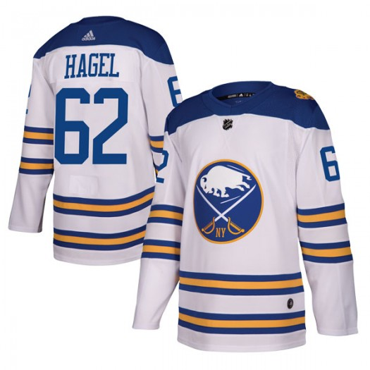Brandon Hagel Buffalo Sabres Youth Adidas Authentic White 2018 Winter Classic Jersey